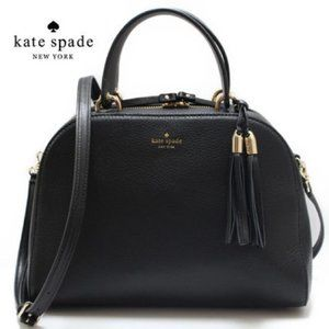 Kate Spade Black Atwood Place Bayley Satchel